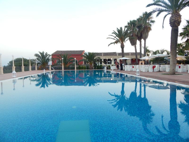piscina in prospettiva