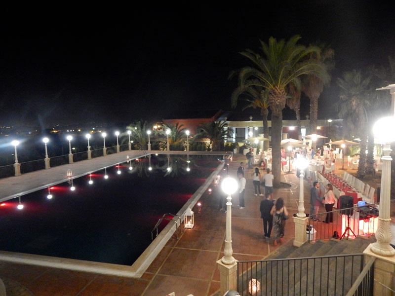 piscina rossa