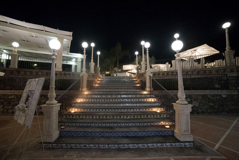 scalinate per la piscina