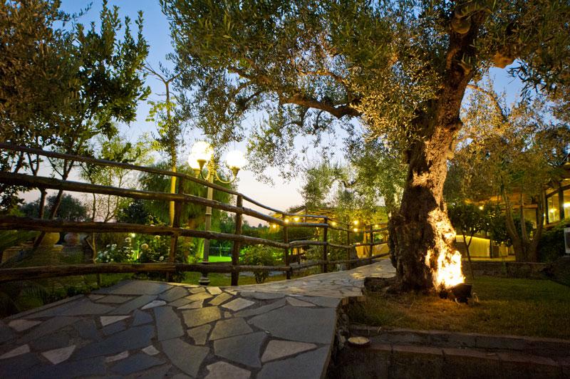 sentiero della villa