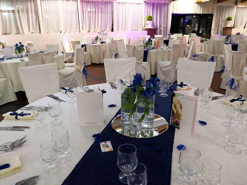 tavoli blu