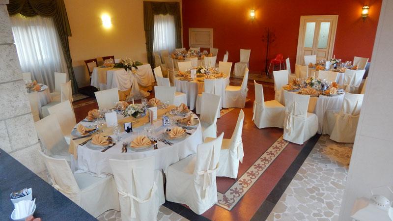 tavoli rotondi banqueting