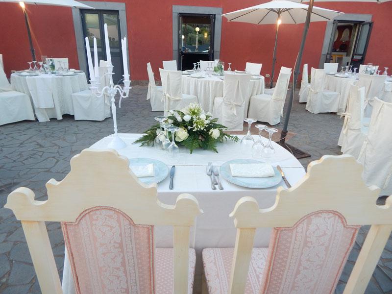 tavolo da sposa